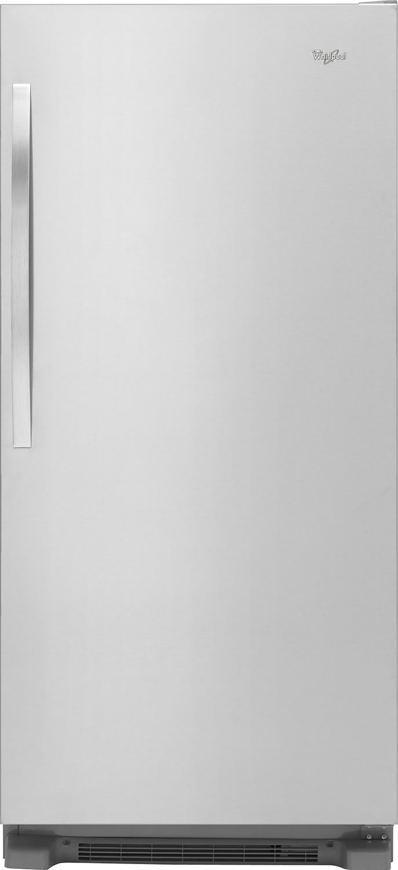 Refrigerators and Freezers - Whirlpool® SideKicks® 18 Cu. Ft. All-Refrigerator – Stainless Steel