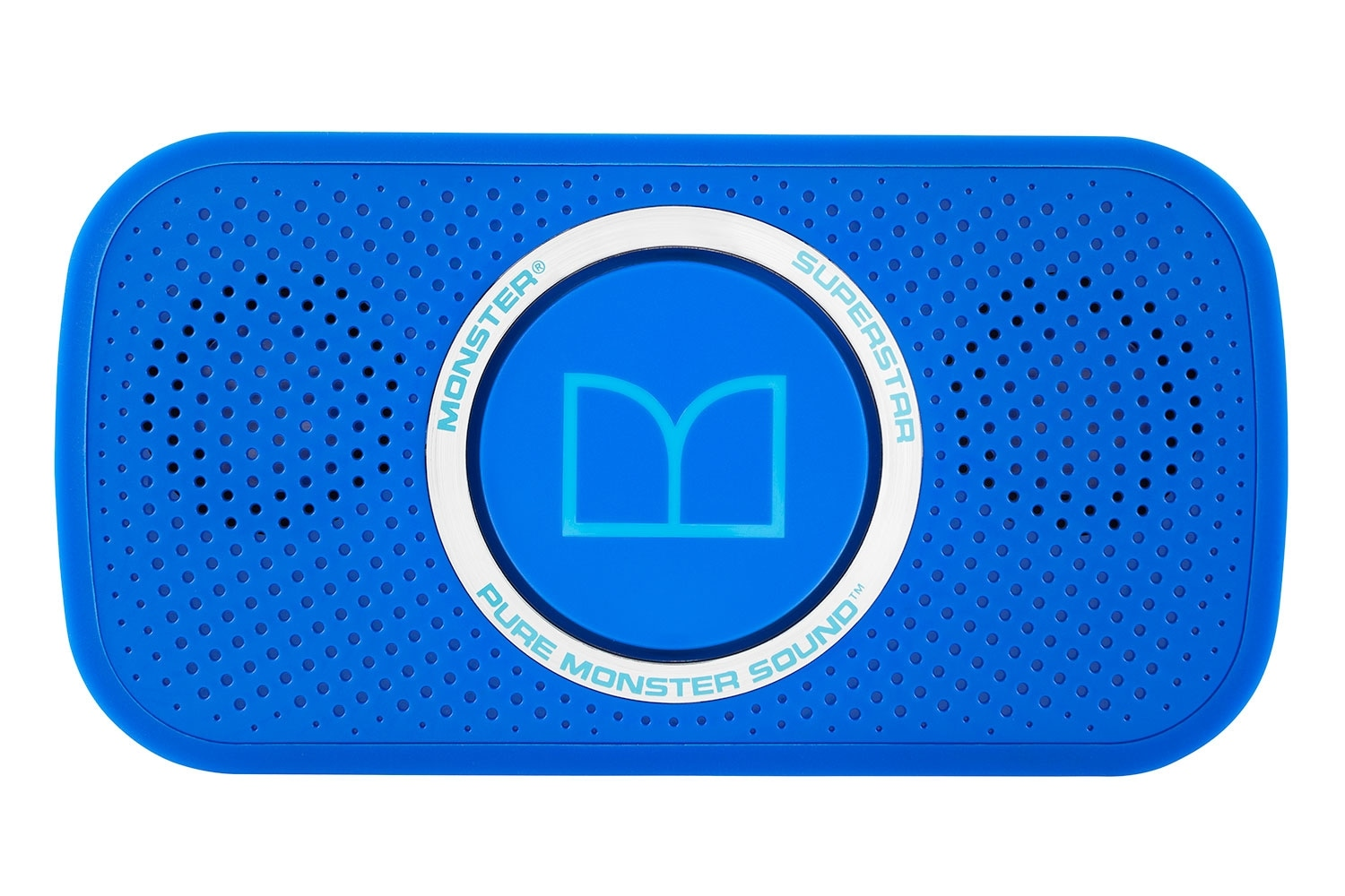 Sound Systems - Monster® SuperStar™ High Definition Portable Bluetooth® Speaker – Blue
