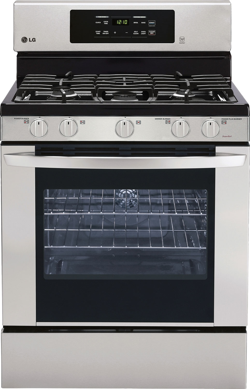 Cooking Products - LG 5.4 Cu. Ft. Freestanding Gas Range – Stainless Steel