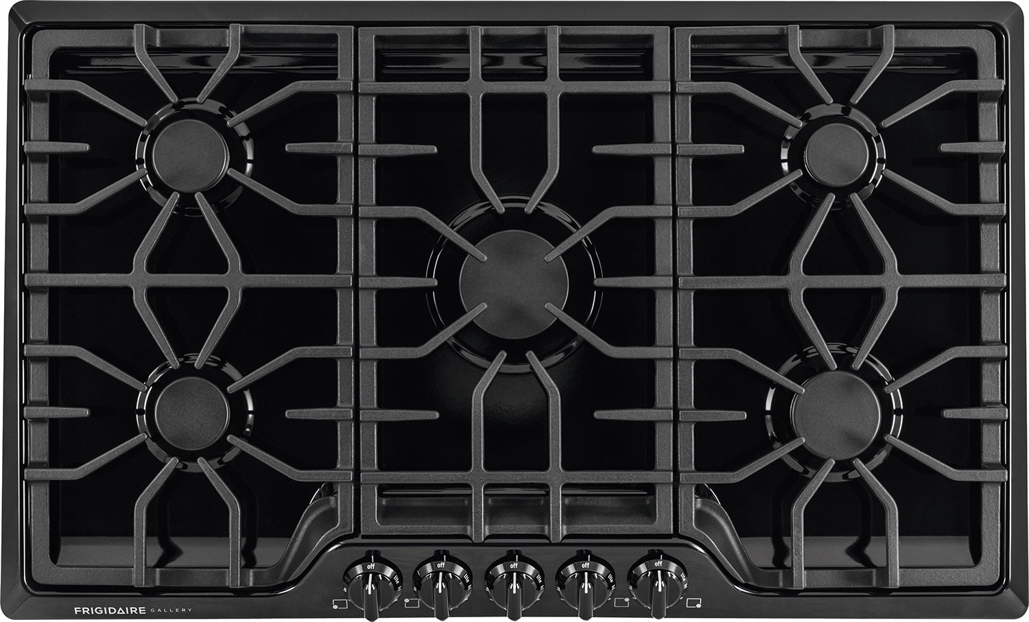 "Cooking Products - Frigidaire Gallery 36"" Gas Cooktop – Black"