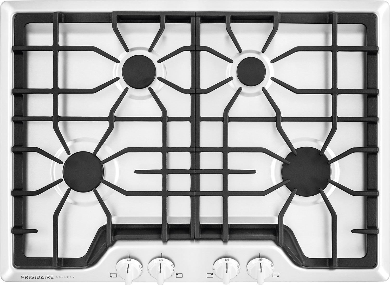 Surface de cuisson à gaz Frigidaire Gallery de 30 po - blanche