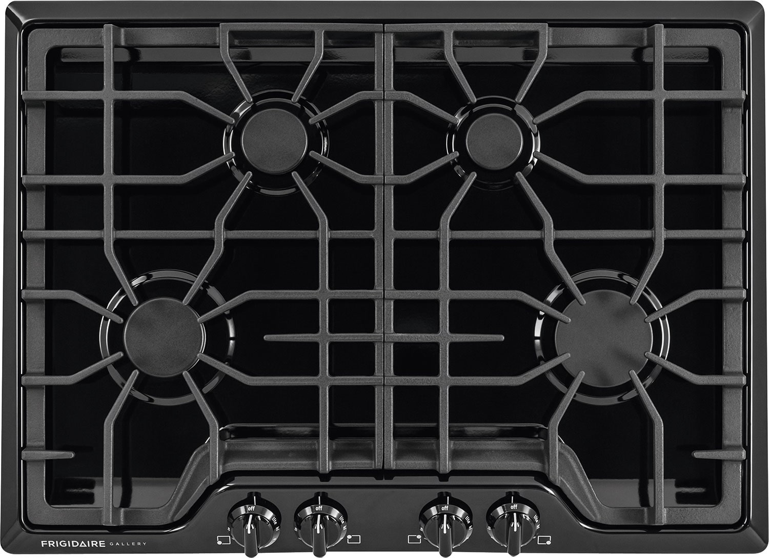 "Cooking Products - Frigidaire Gallery 30"" Gas Cooktop – Black"