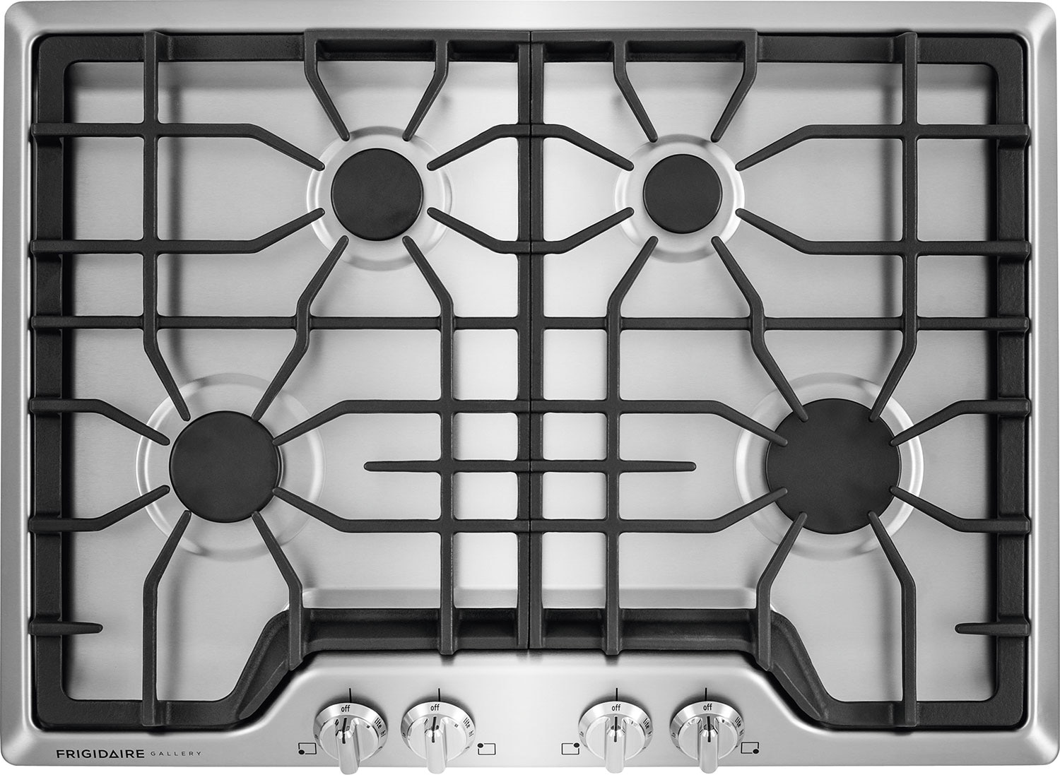 "Cooking Products - Frigidaire Gallery 30"" Gas Cooktop – Stainless Steel"