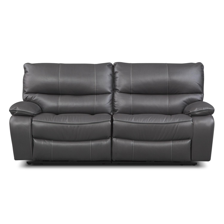 American Free Furniture Orlando: Orlando Power Reclining Sofa - Gray