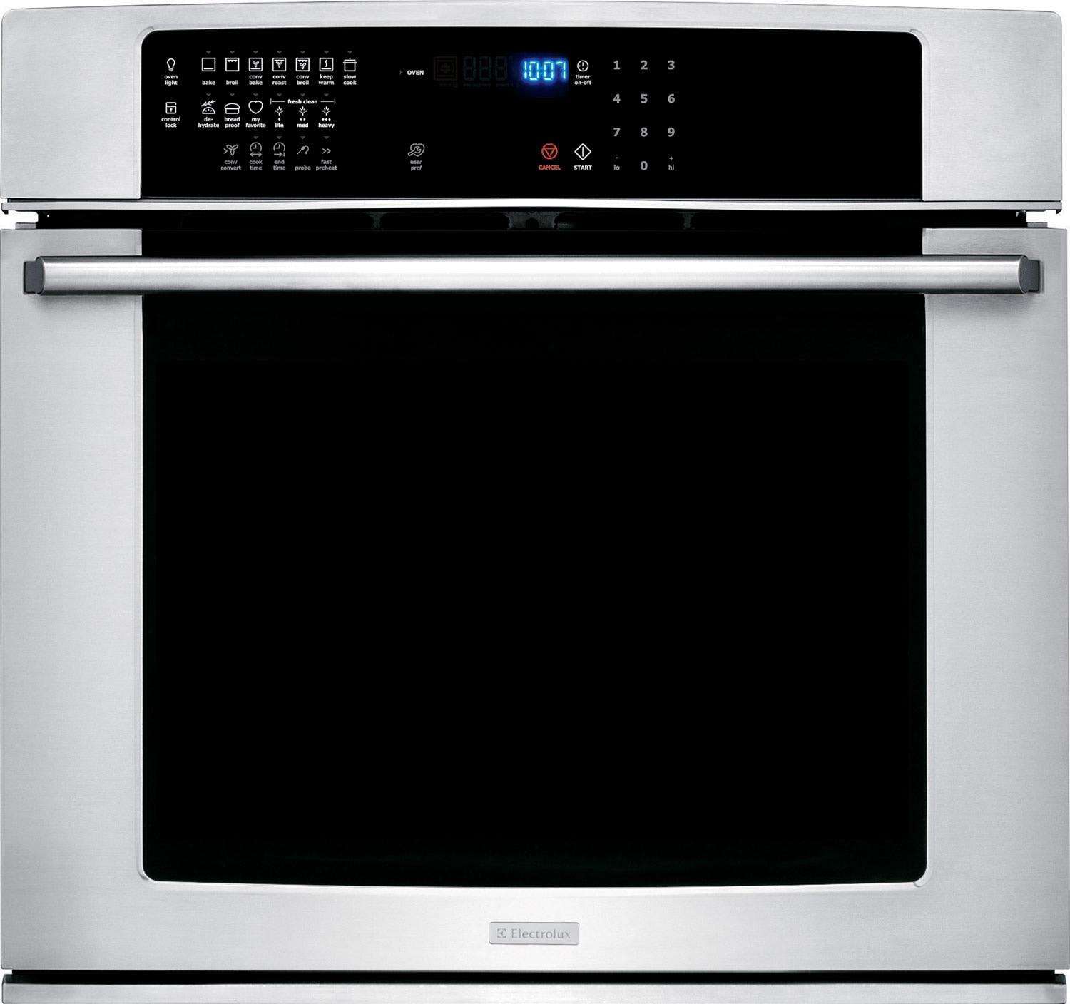 "Cooking Products - Electrolux 30"" 4.8 Cu. Ft. Single Wall Oven – Stainless Steel"