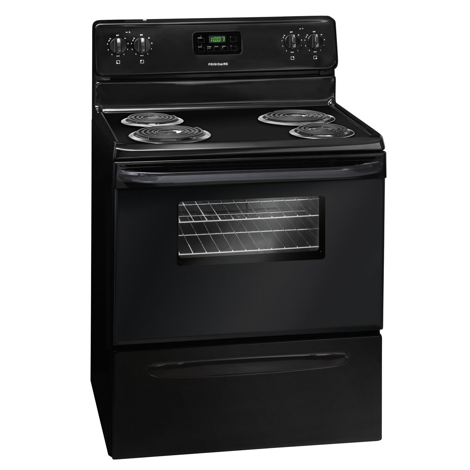 """Cooking Products - Frigidaire 30"""" Freestanding Electric Range – Black"""