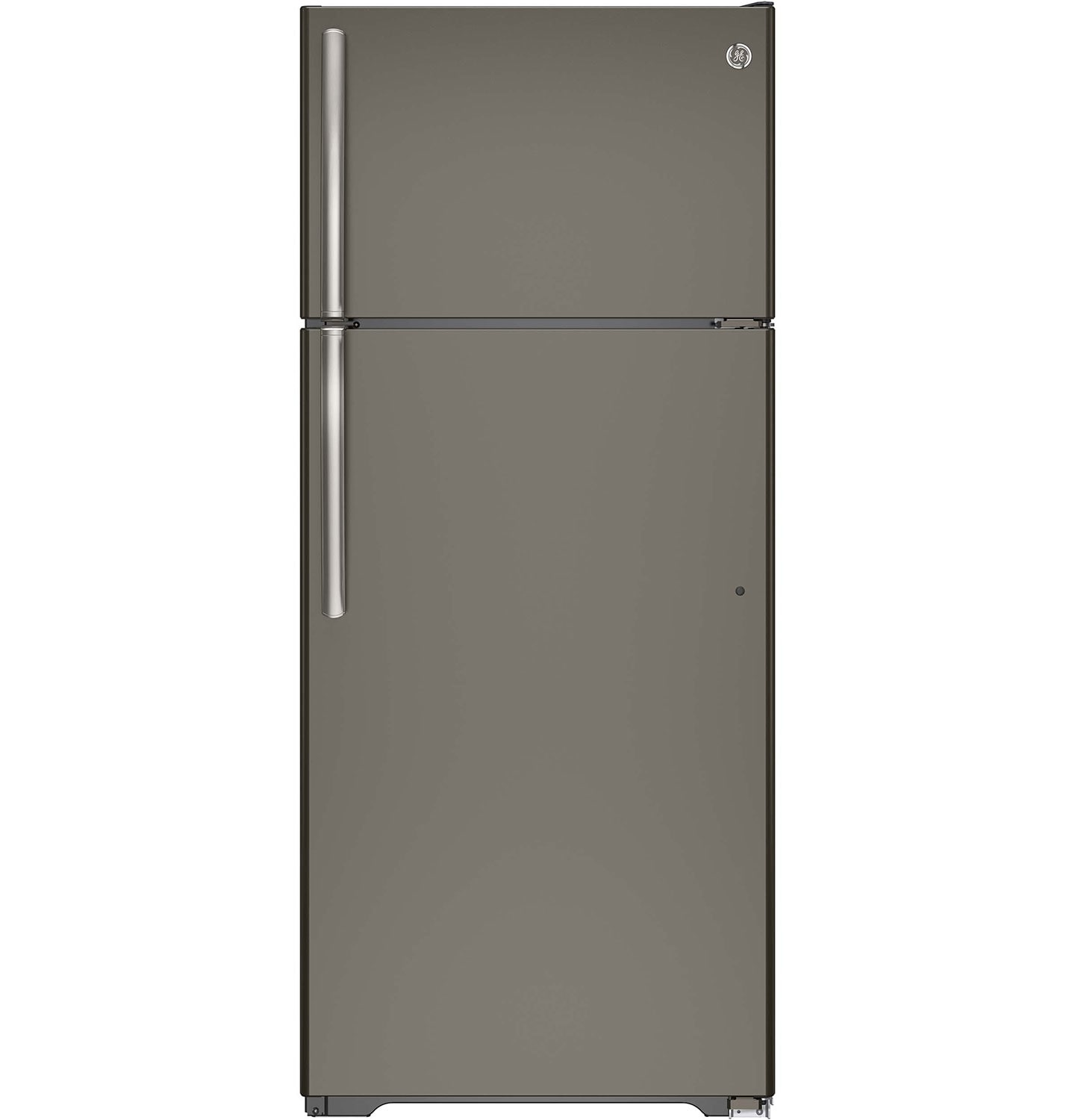 Refrigerators and Freezers - GE 17.5 Cu. Ft. Top-Freezer Refrigerator - Slate