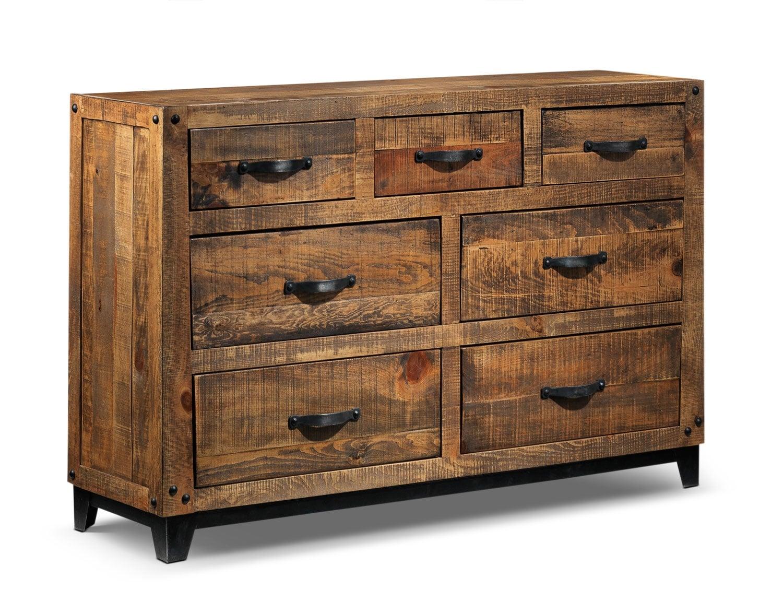 maya dresser rustic pine leon 39 s. Black Bedroom Furniture Sets. Home Design Ideas