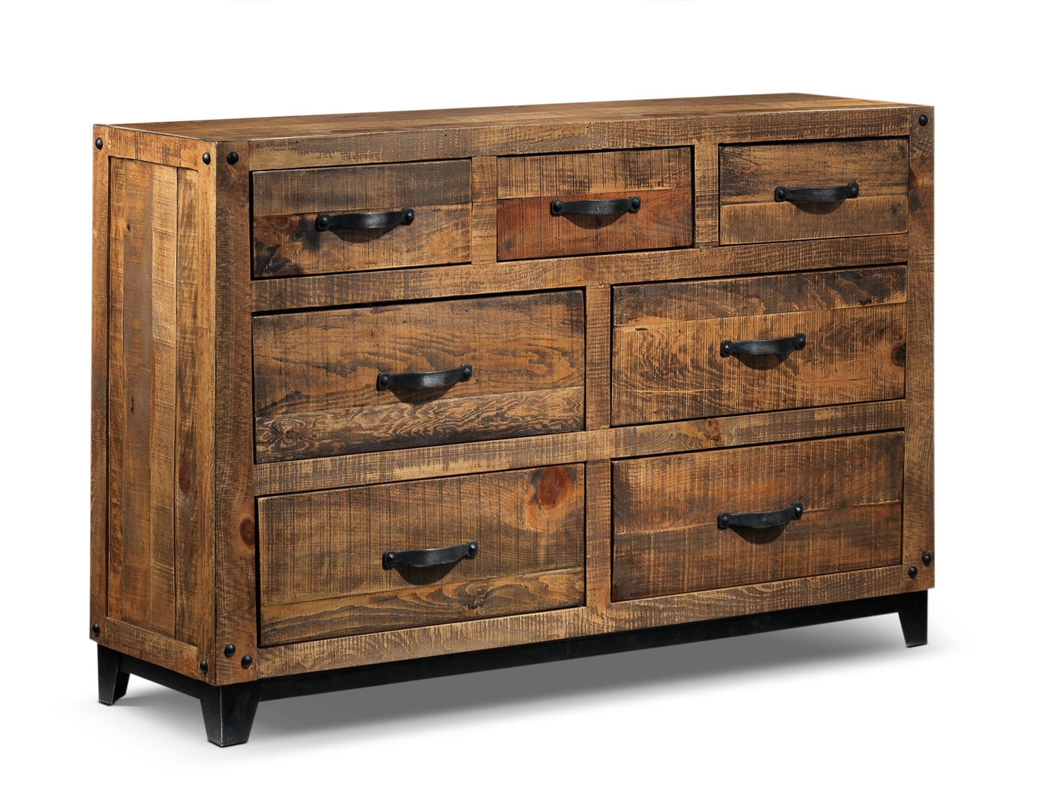 Bedroom Furniture - Maya Dresser - Rustic Pine