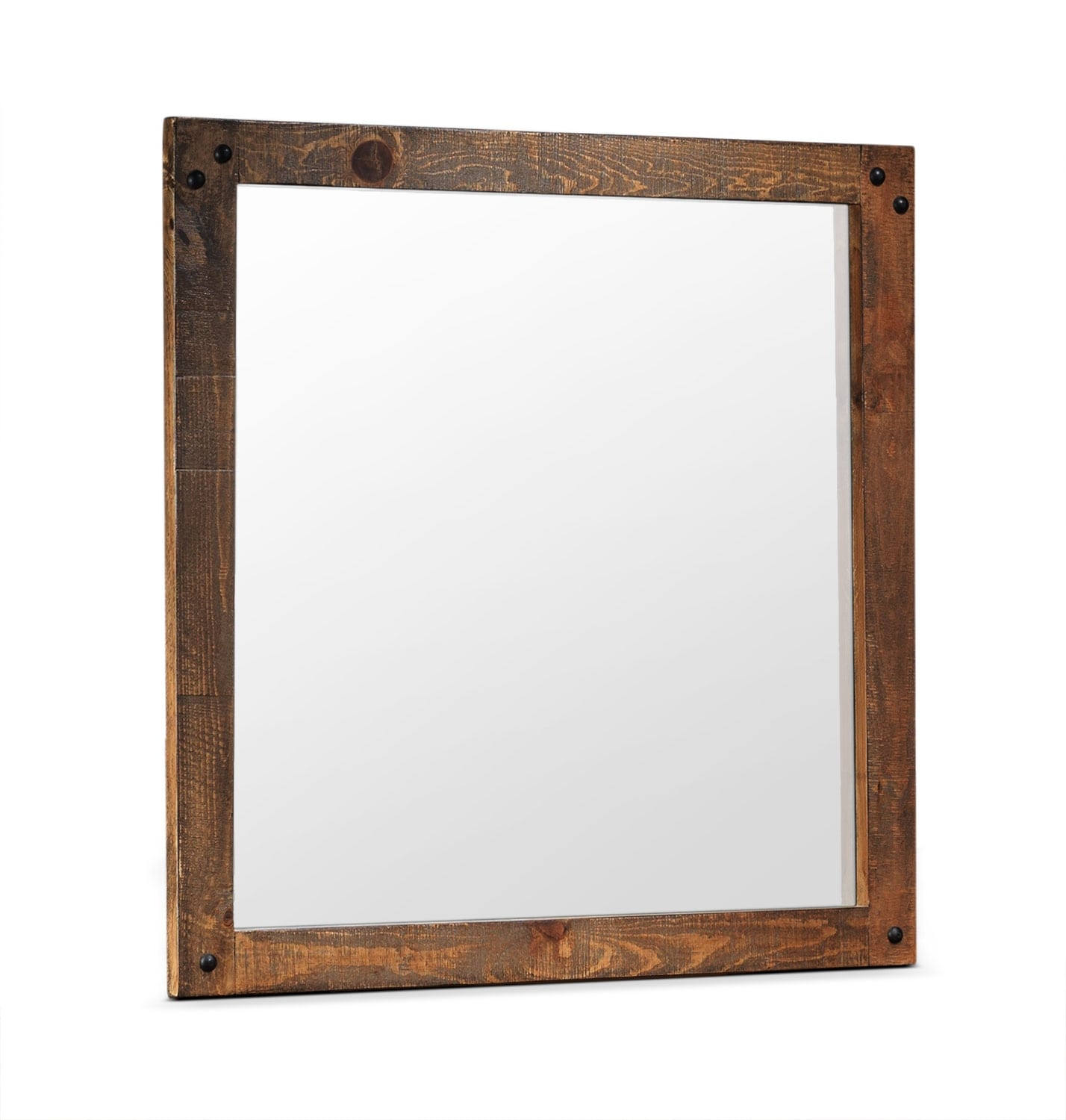 Bedroom Furniture - Maya Mirror - Rustic Pine