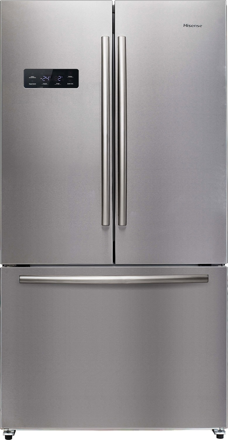 Refrigerators and Freezers - Hisense 20.3 Cu. Ft. French-Door Refrigerator – Stainless Steel