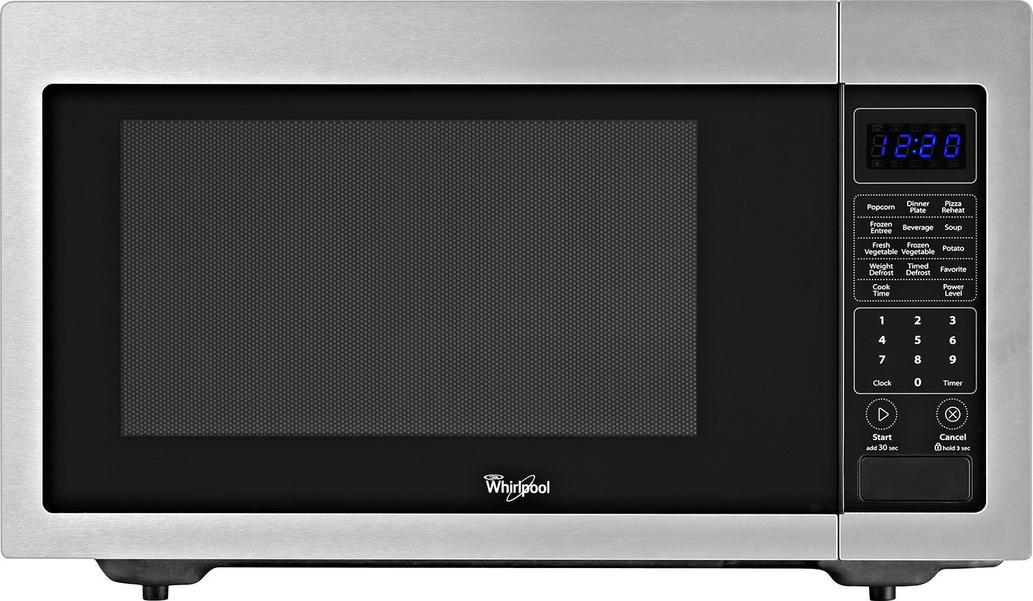 Cooking Products - Whirlpool® 1.6 Cu. Ft. Countertop Microwave – Stainless Steel