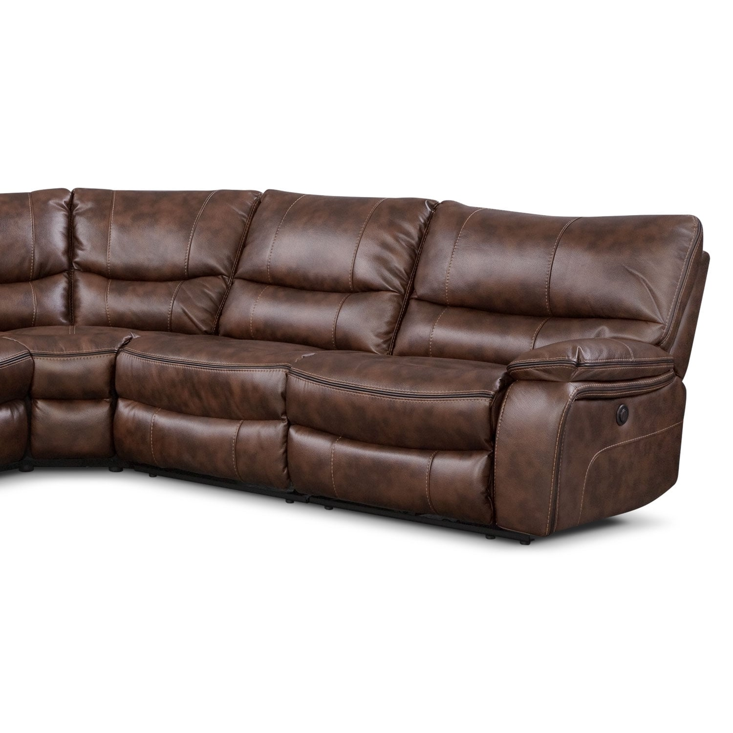 Orlando Ii 5 Pc Power Reclining Sectional Value City
