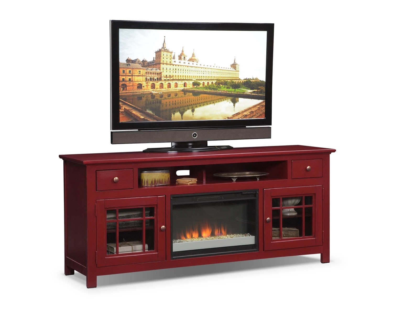 fight the cold with these fireplaces value city furniture