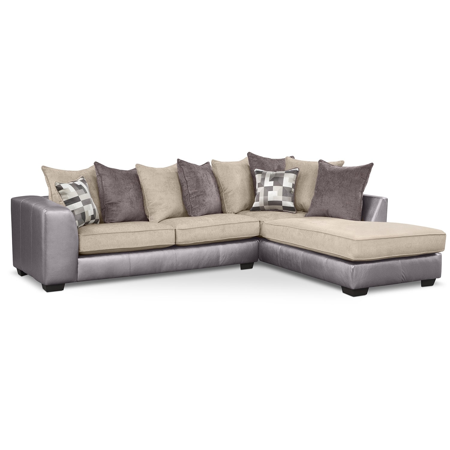 [Montero II 2 Pc. Sectional]