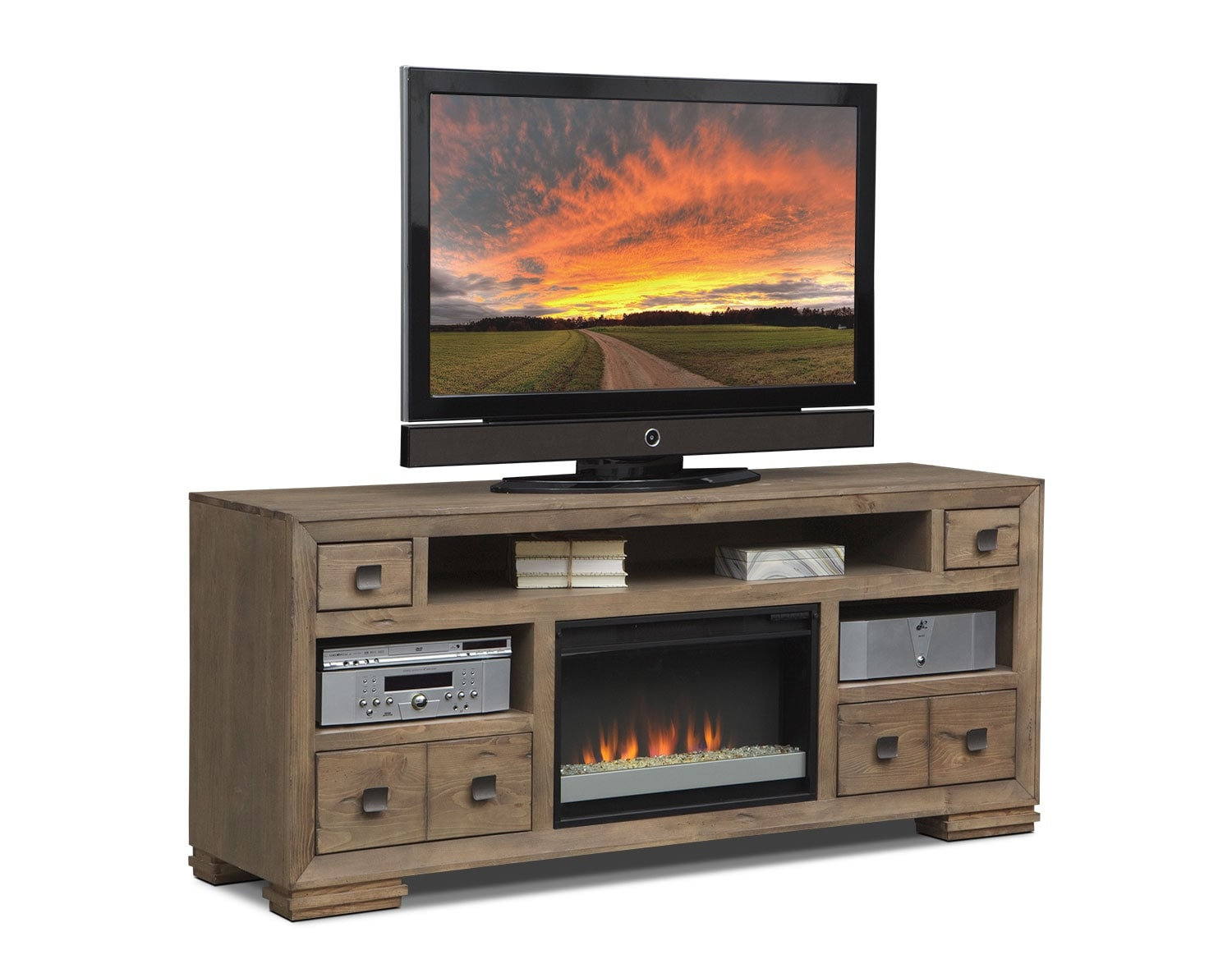 Image Result For Tv Stands With Fireplace Inserta