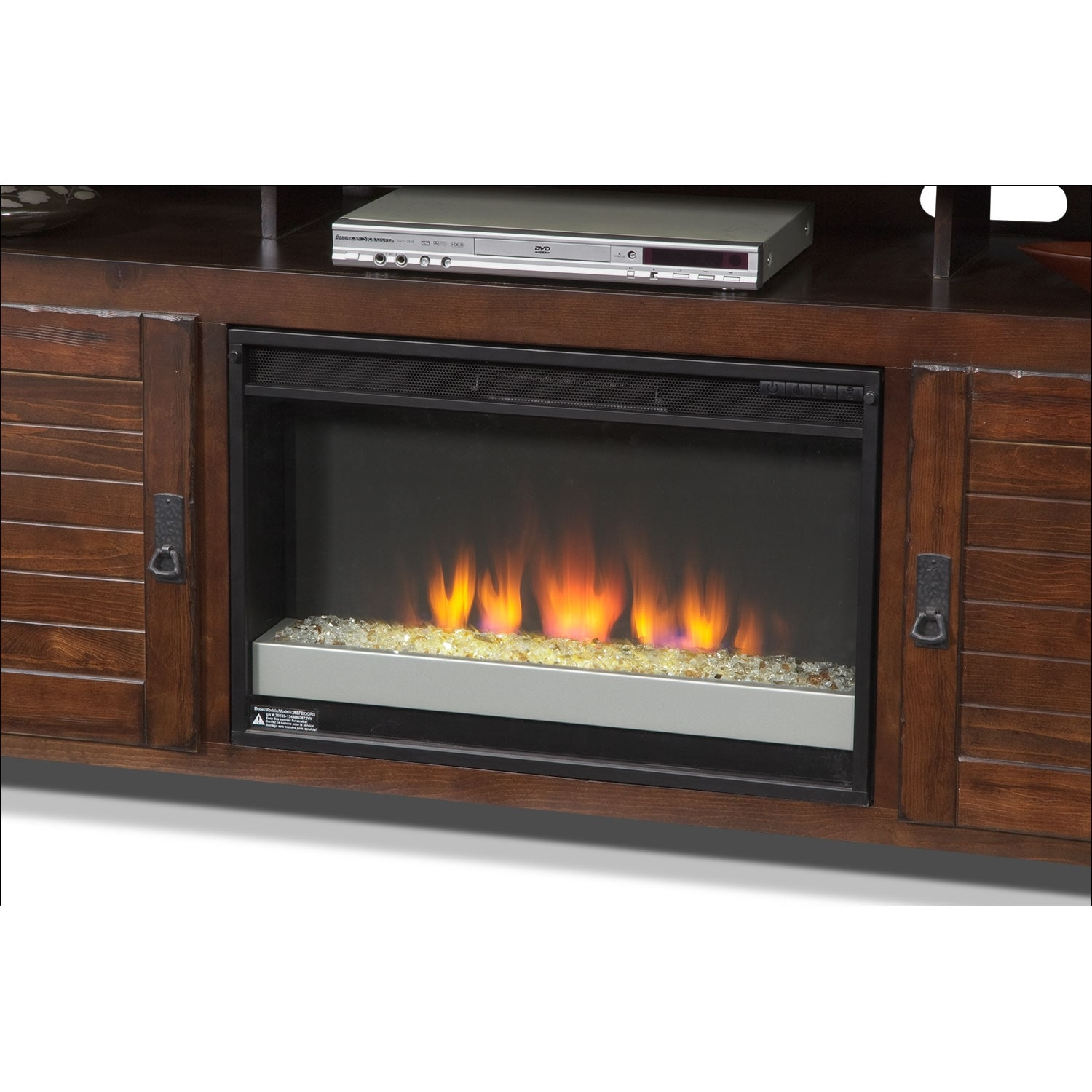 Harrington Entertainment Wall Units 74 Fireplace TV Stand