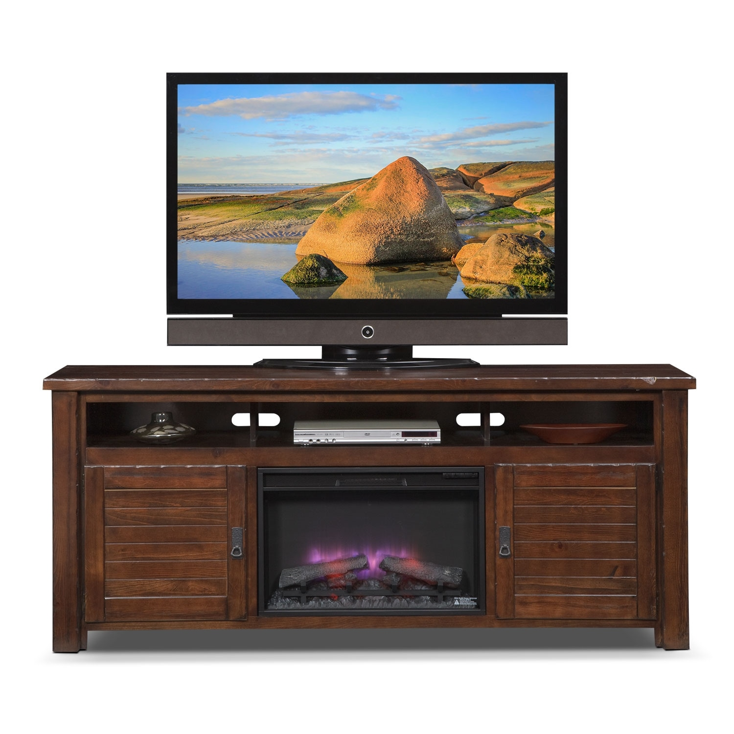 harrington entertainment wall units 74 quot fireplace tv stand