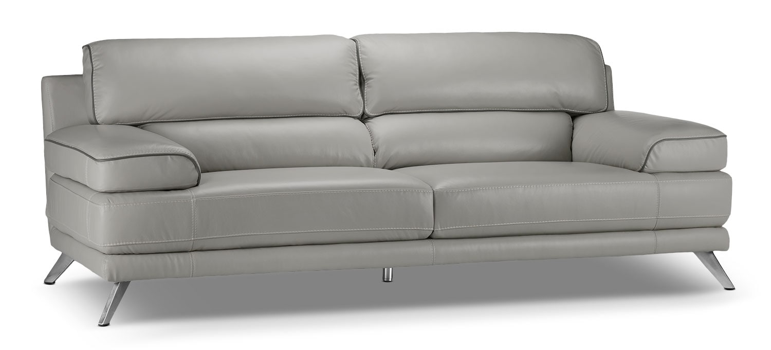 Living Room Furniture - Sutton Sofa - Grey