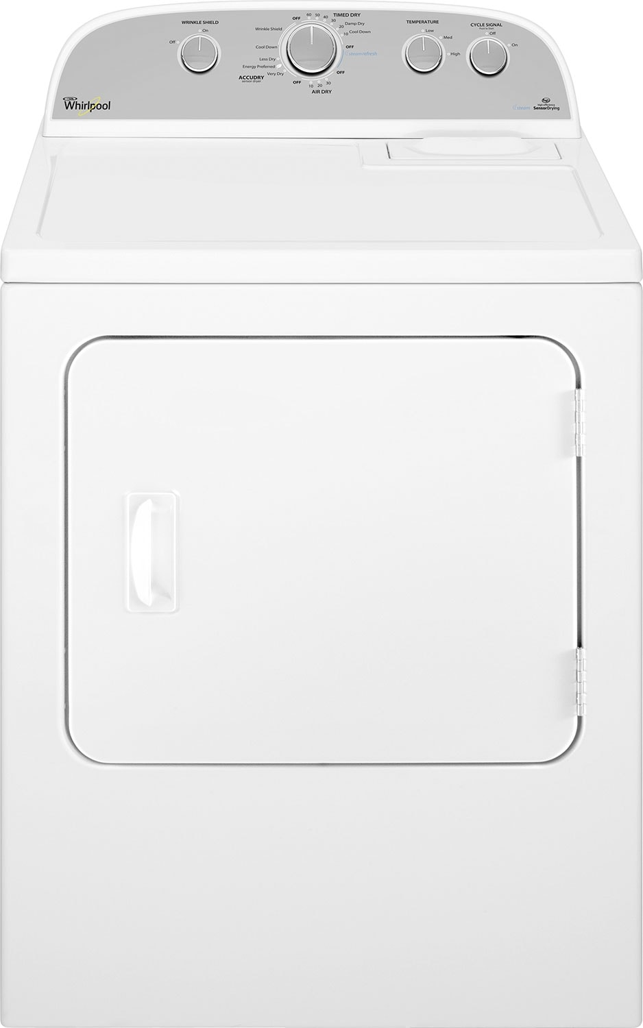 Whirlpool® Duet® 7.0 Cu. Ft. High-Efficiency Electric Dryer - White