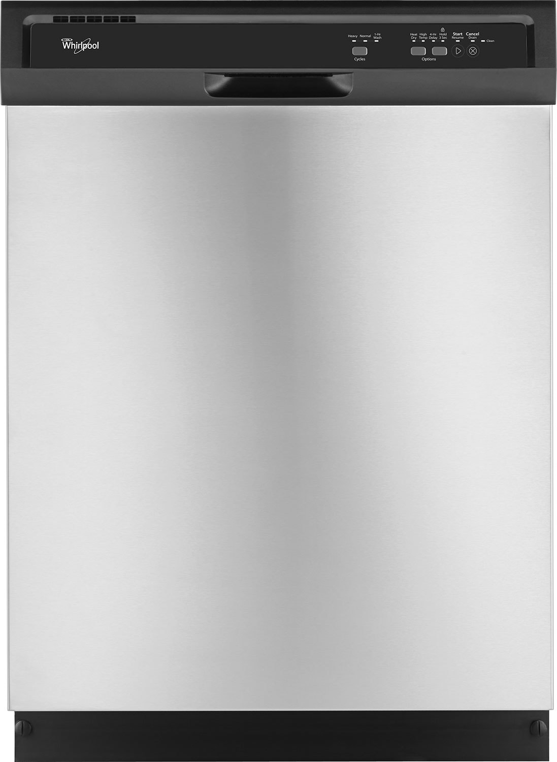 Whirlpool® Built-In Dishwasher – Stainless Steel