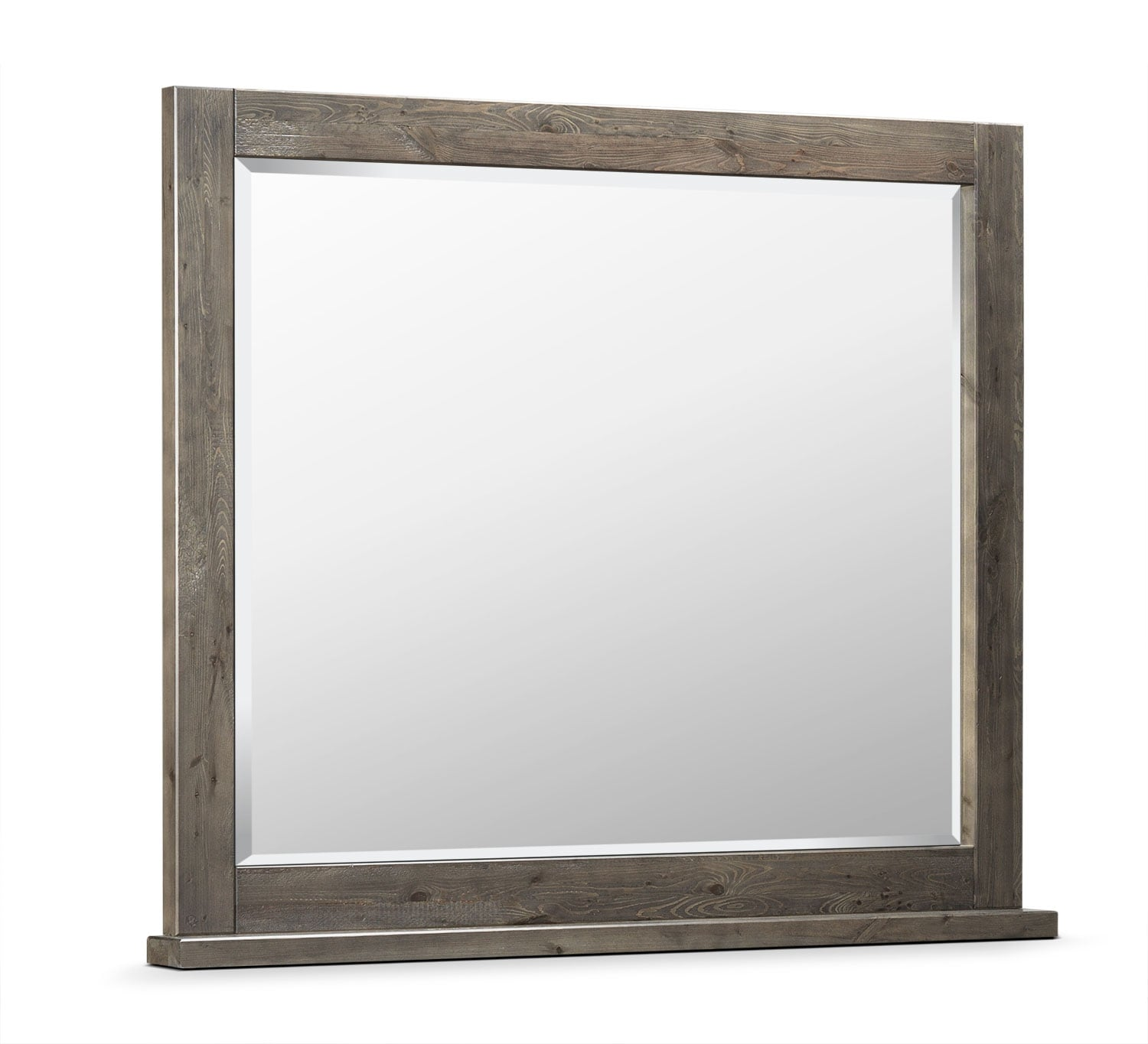 Bedroom Furniture - Pine Ridge Mirror - Slate