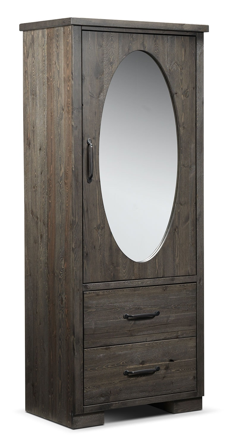 Bedroom Furniture - Pine Ridge Wardrobe - Slate