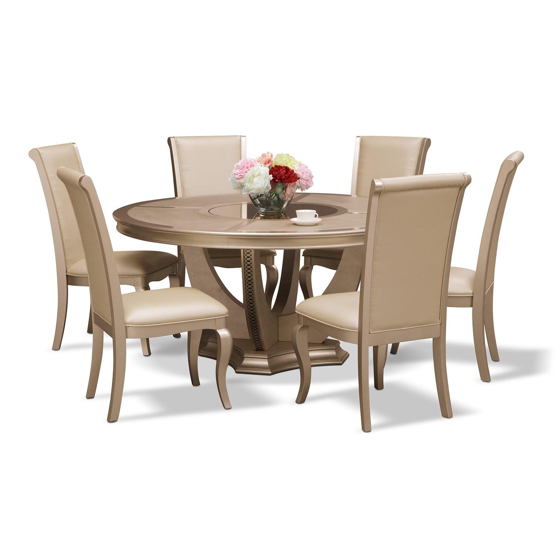 [Allegro 7 Pc. Dining Room]