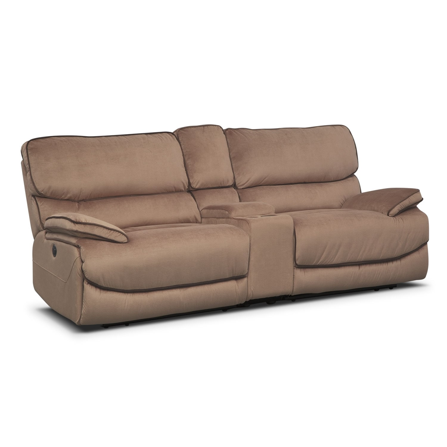 [Bandera Brown 3 Pc. Power Reclining Sectional]