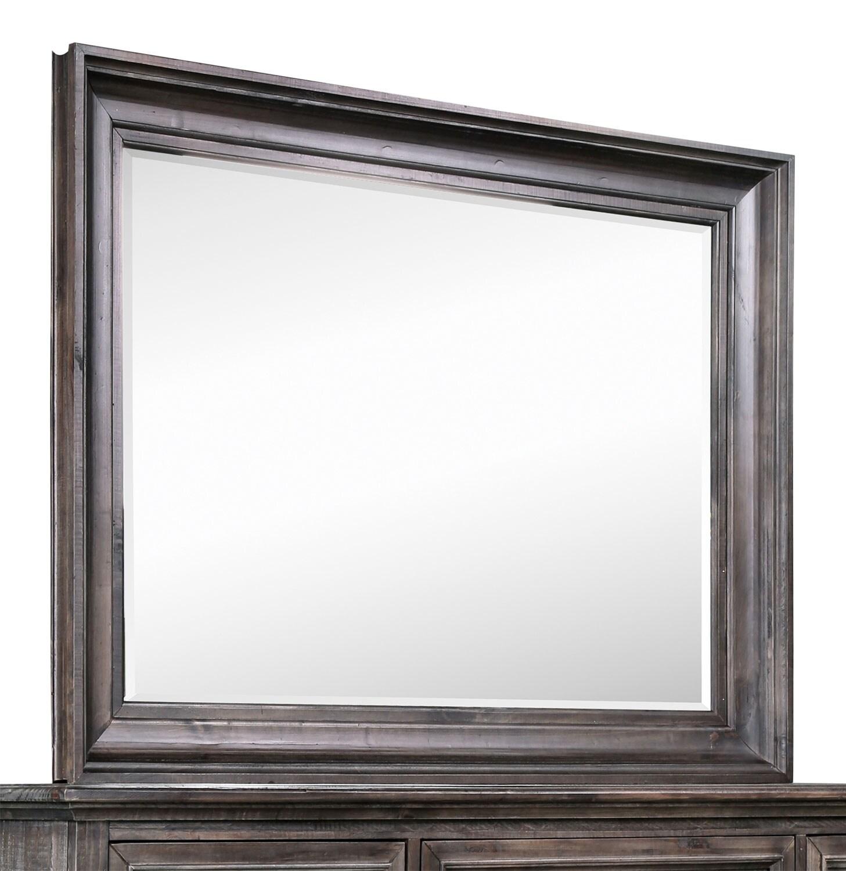 Bedroom Furniture - Calistoga Mirror - Weathered Charcoal