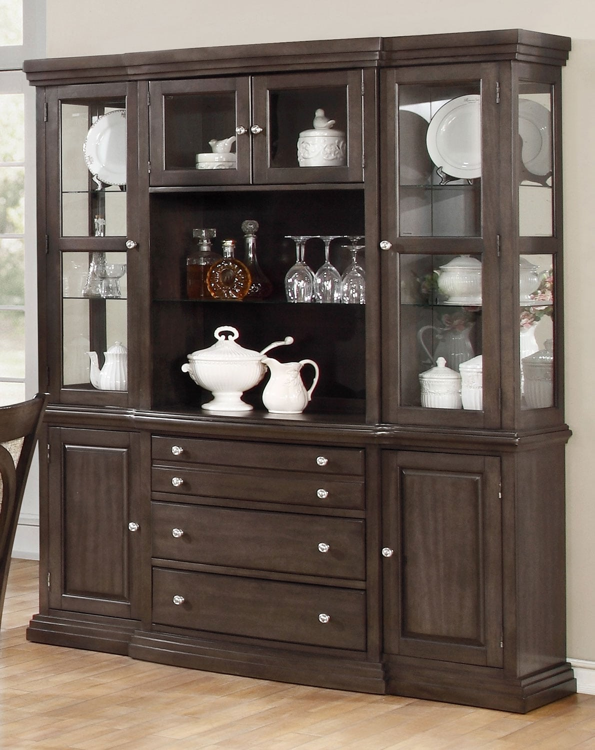 Dining Room Furniture - Beaumont Buffet and Hutch