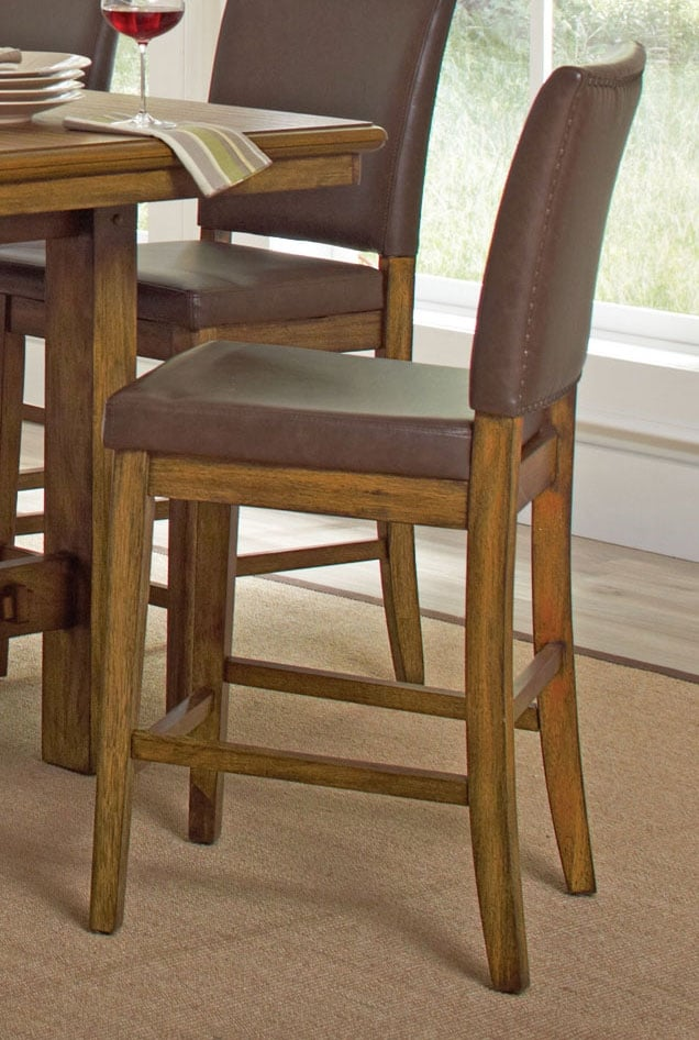 Dining Room Furniture - Aiko Counter-Height Dining Stool