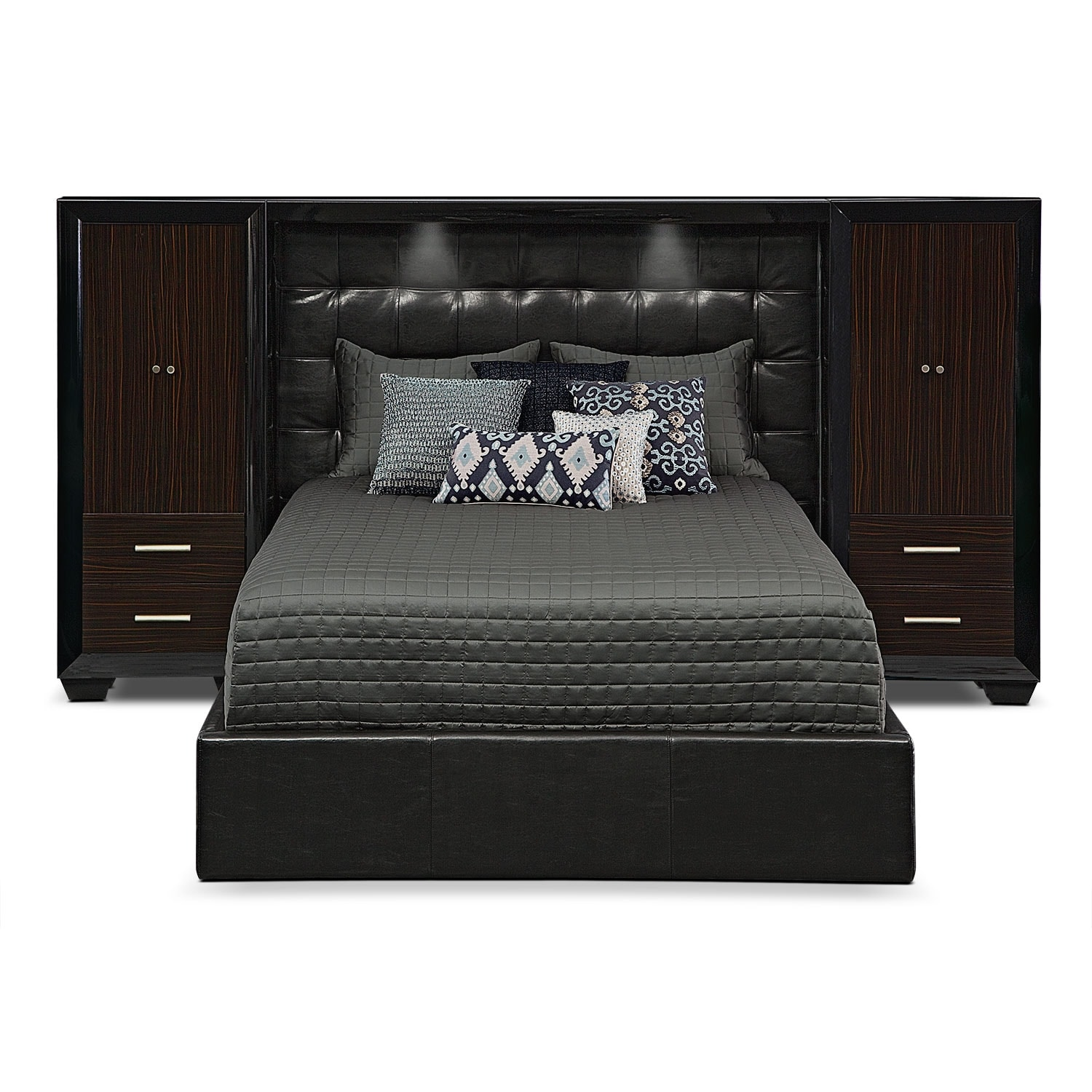 Bracco Queen Wall Bed With Piers