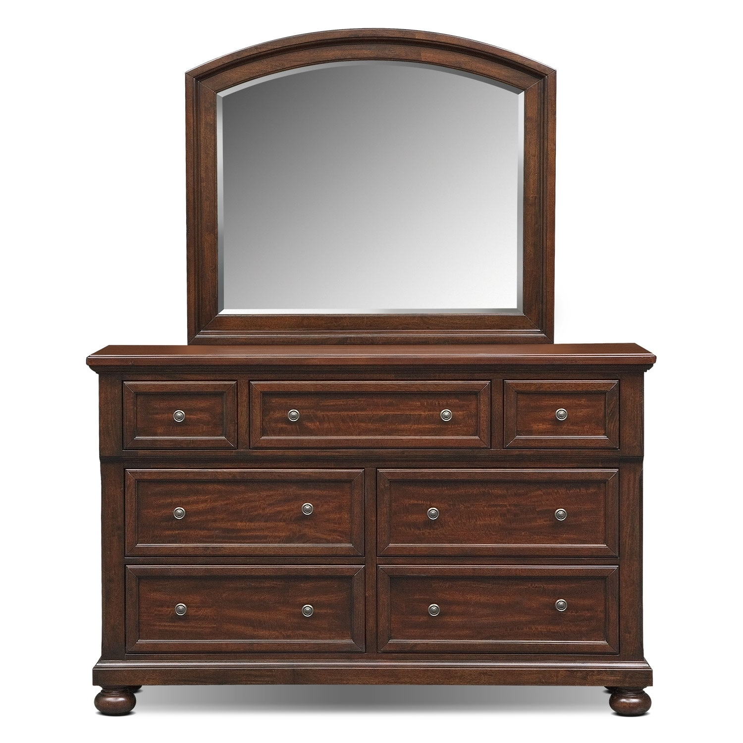 Hanover Dresser And Mirror Cherry Value City Furniture