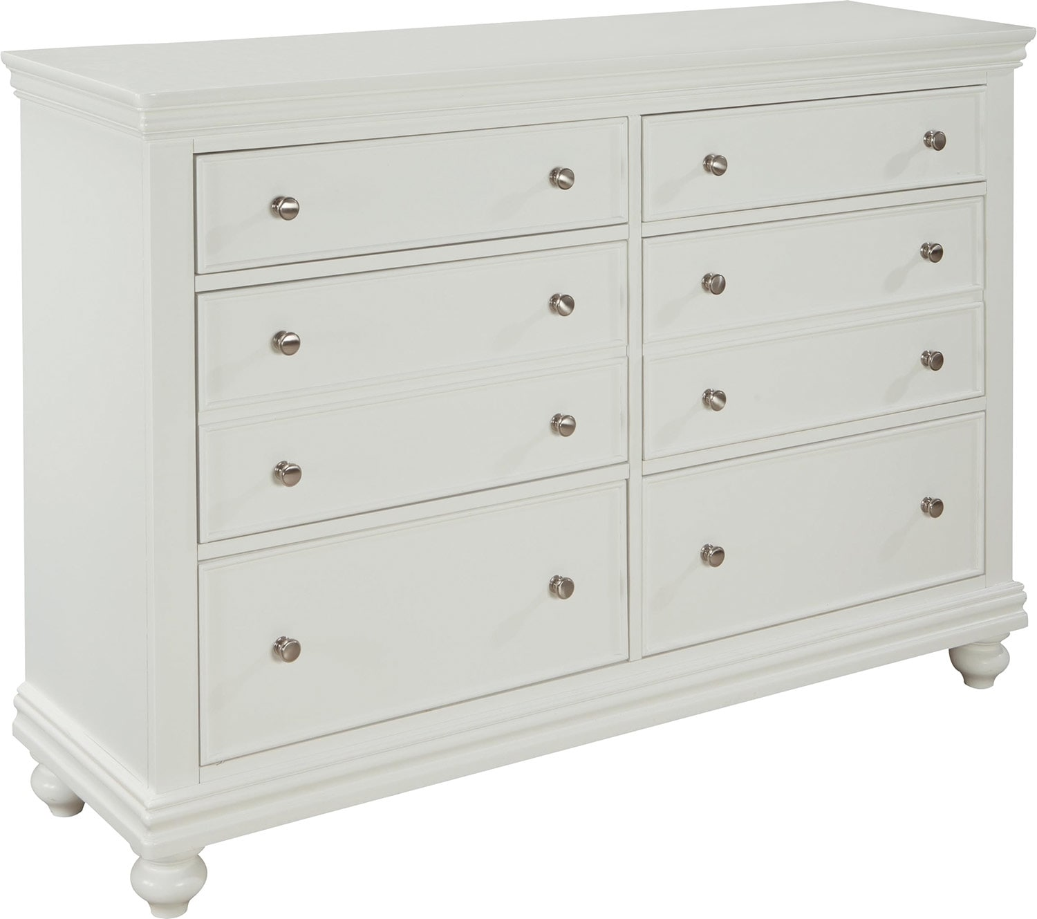 Bridgeport Dresser – White