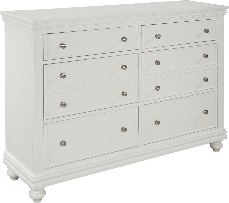 Bedroom Furniture - Bridgeport Dresser – White