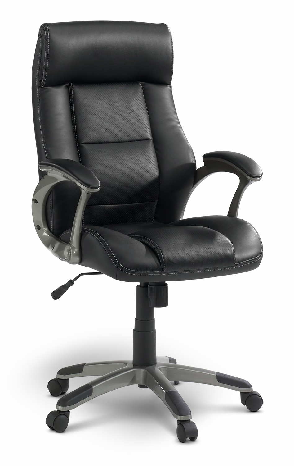 Home Office Furniture - Vegas Bonded-Leather Manager Chair