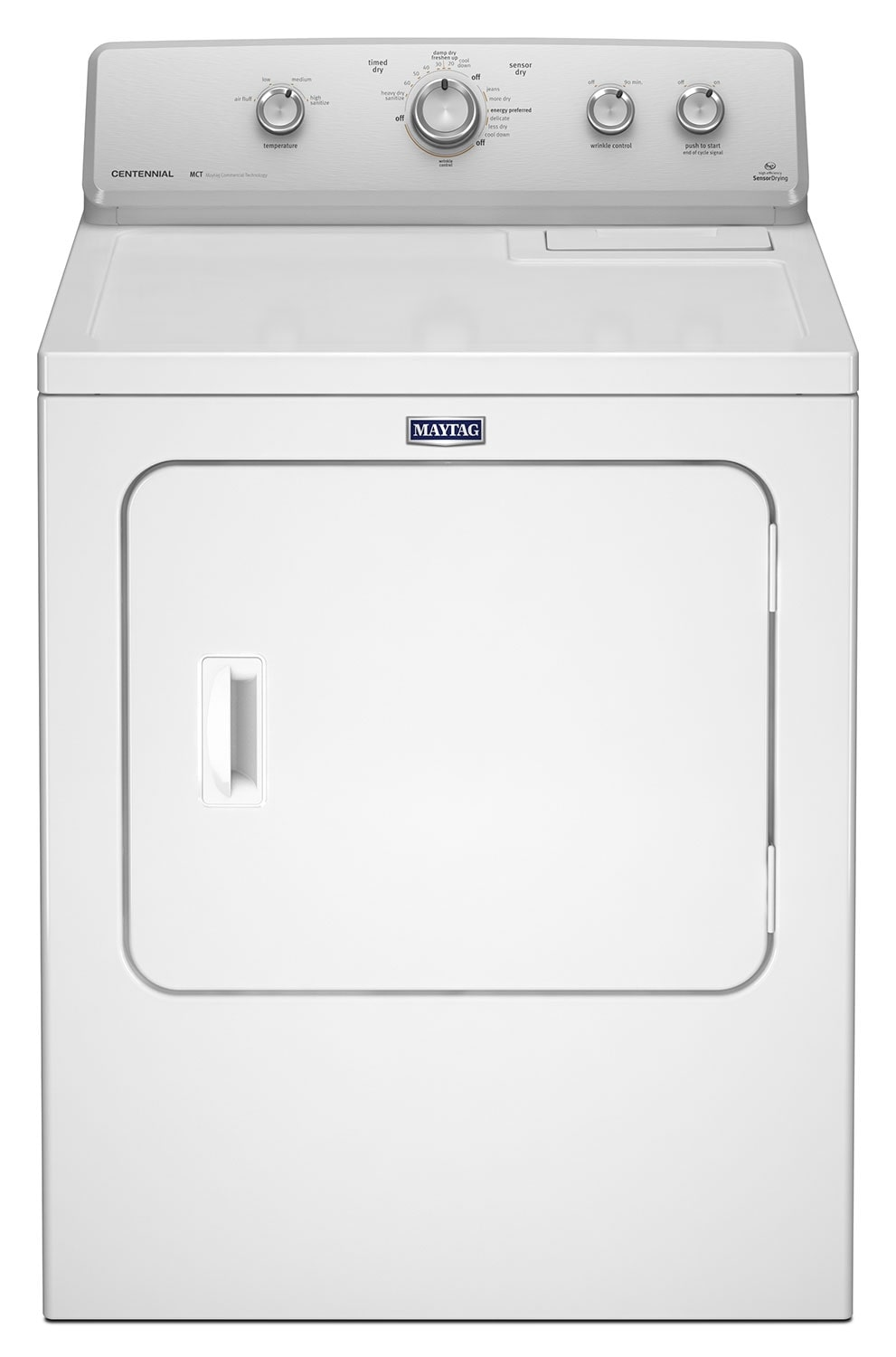 Washers and Dryers - Maytag® 7.0 Cu. Ft. Extra-Large Capacity Gas Dryer– White