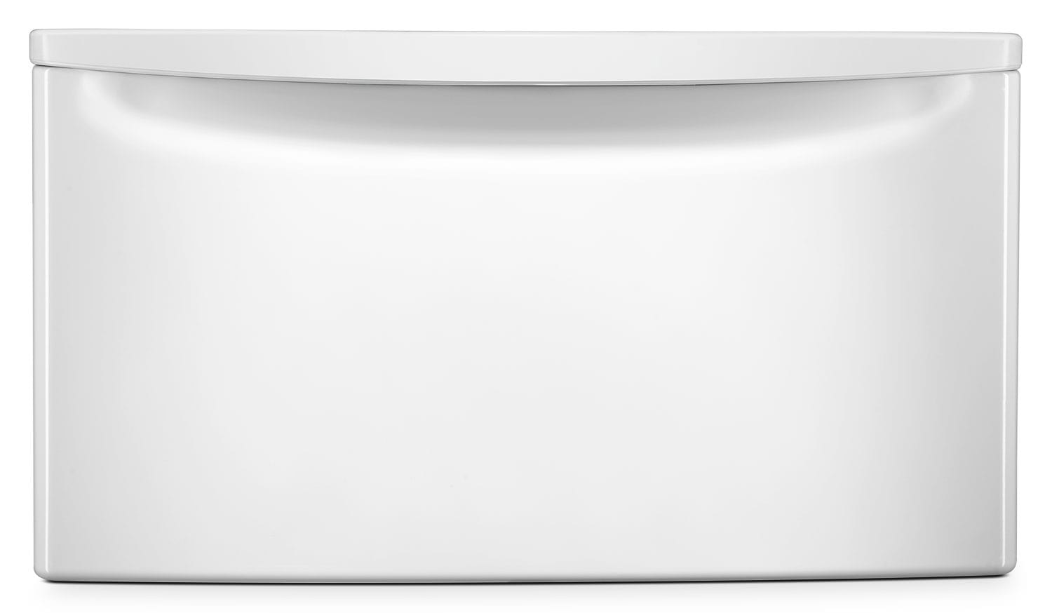 "Appliance Accessories - Whirlpool® Laundry 123® 15.5"" Laundry Pedestal with Storage Drawer – White"