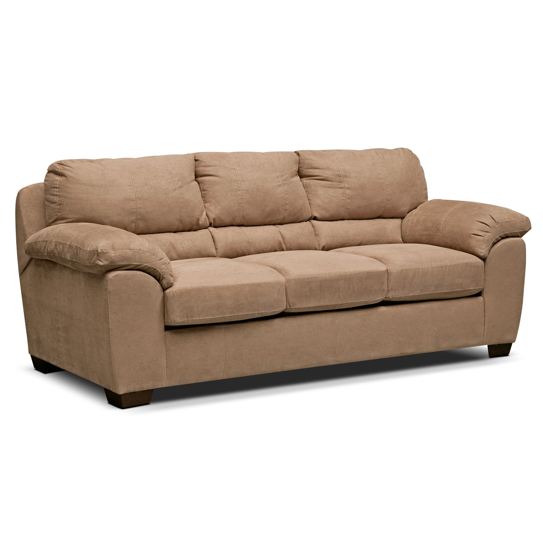 Living Room Furniture - Henson Camel Sofa