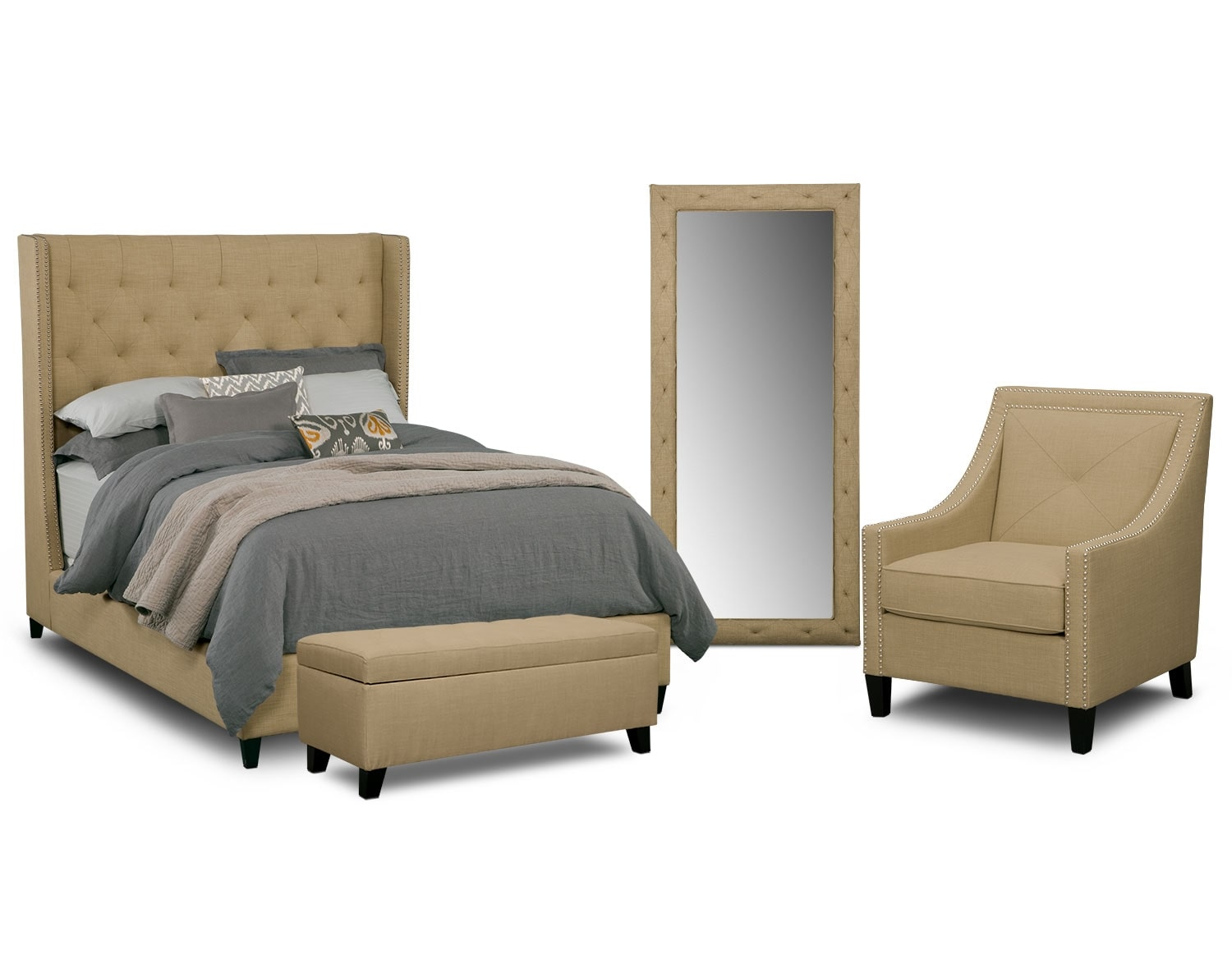 cabaret bedroom collection value city furniture