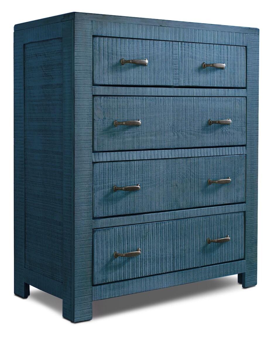 Kids Furniture - Phoenix Chest – Blue