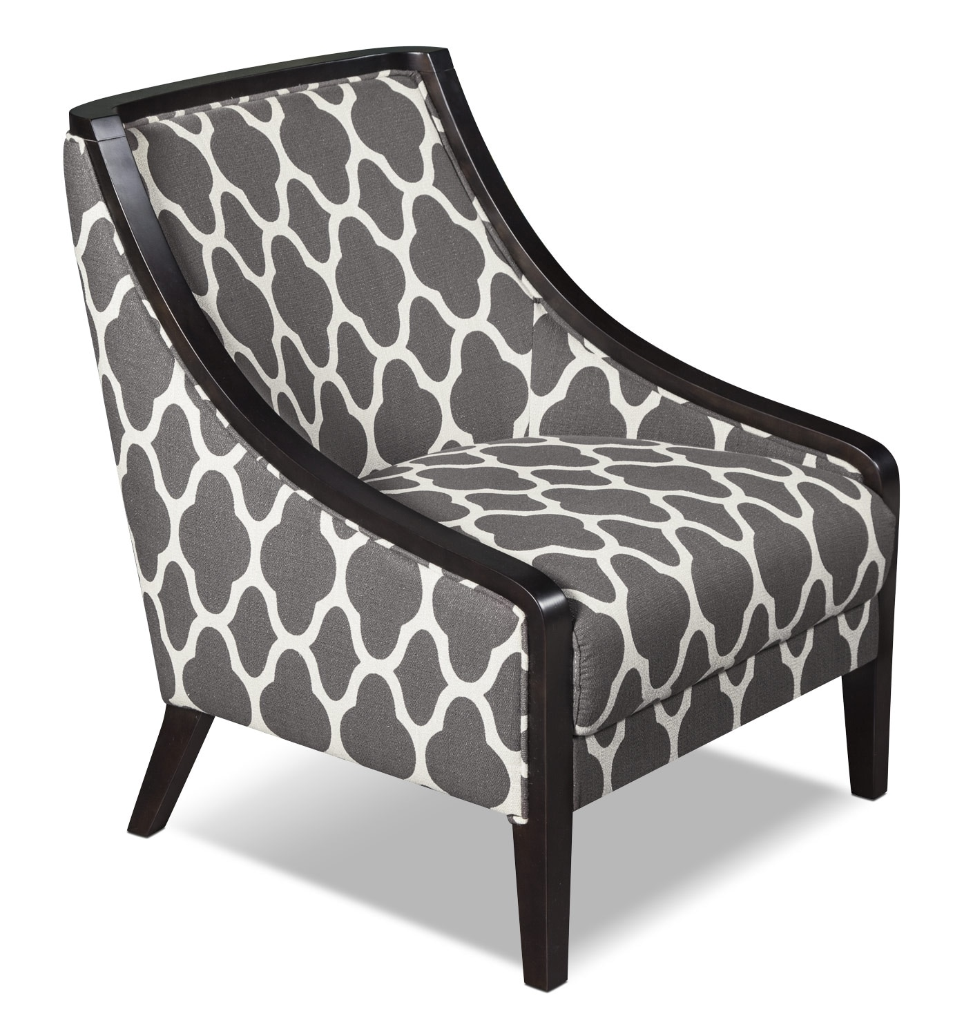 Living Room Furniture Daphne Fabric Accent Chair
