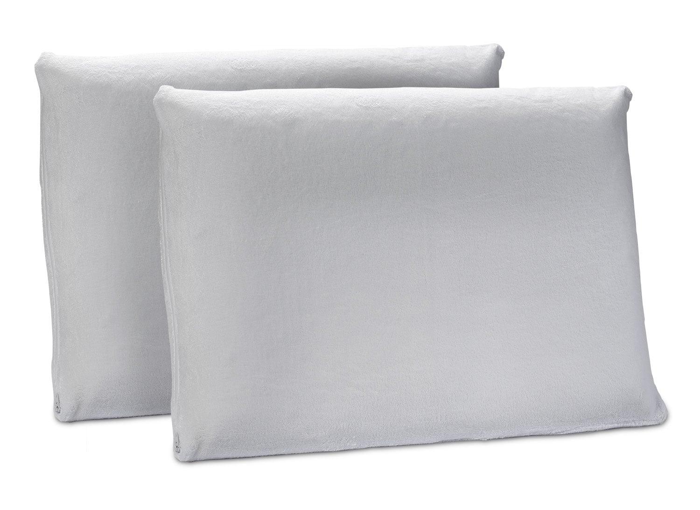 Mattresses and Bedding - Ergo Latex 2 Pc. Pillow Set