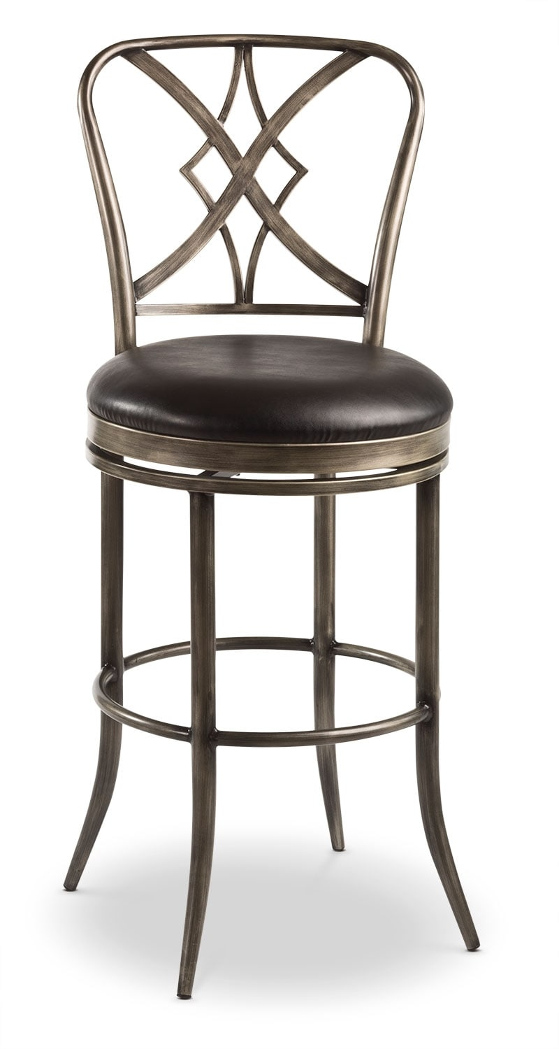 Dining Room Furniture - Jaqueline Counter-Height Swivel Stool