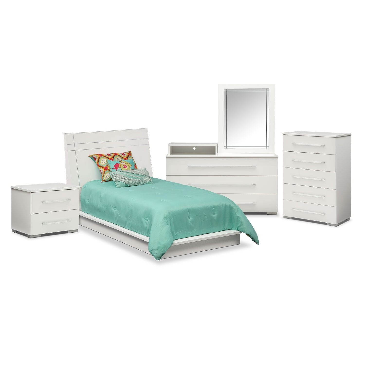 Dimora Chest White American Signature Furniture