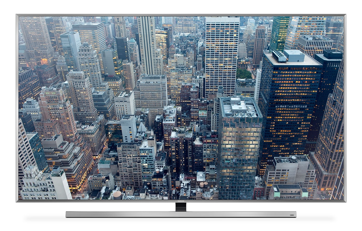 "Televisions - Samsung 75"" 4K UHD 3D Smart Slim LED JU7100 Series TV"