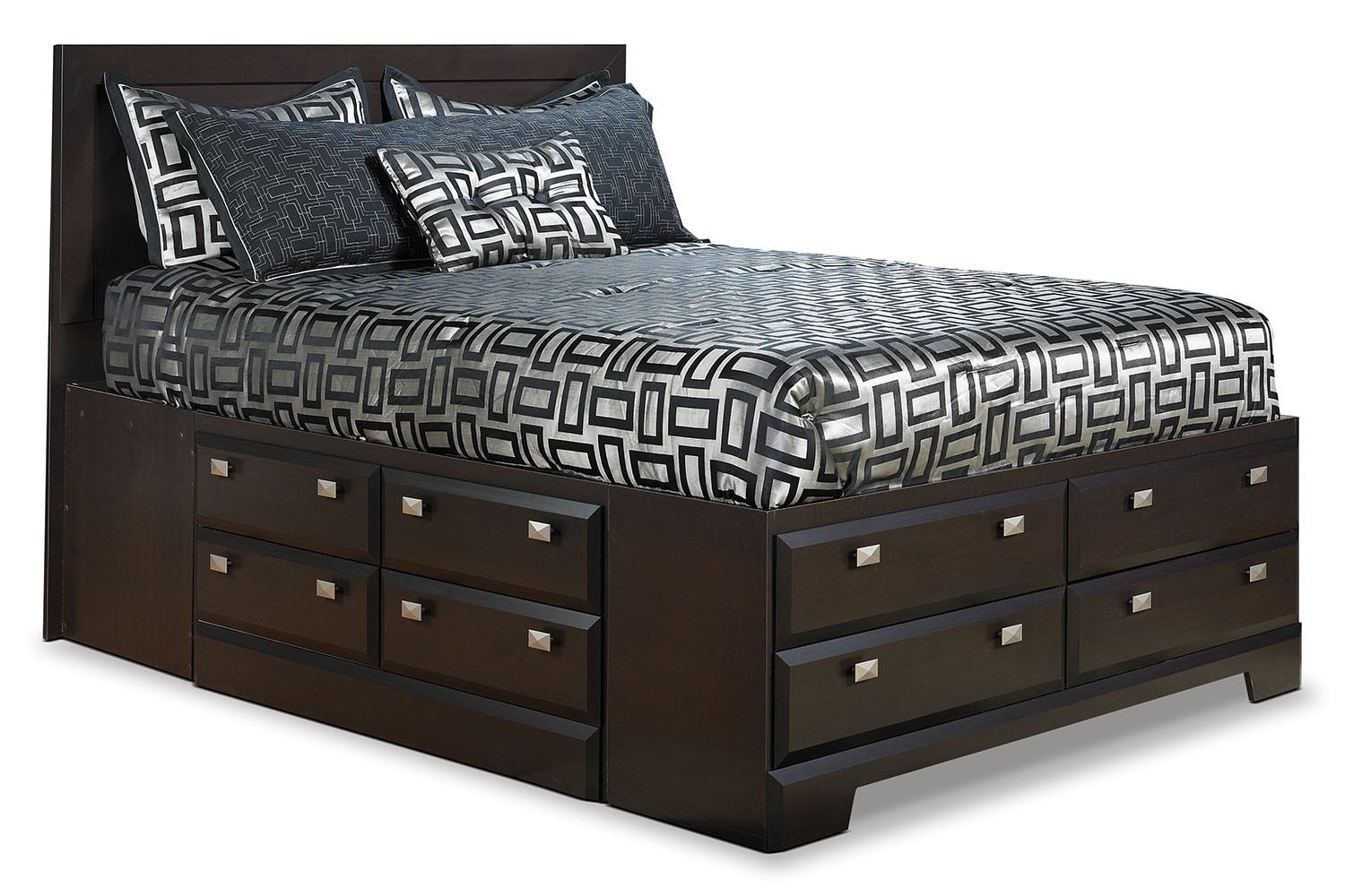 Bedroom Furniture - Yorkdale Full Bed with Storage
