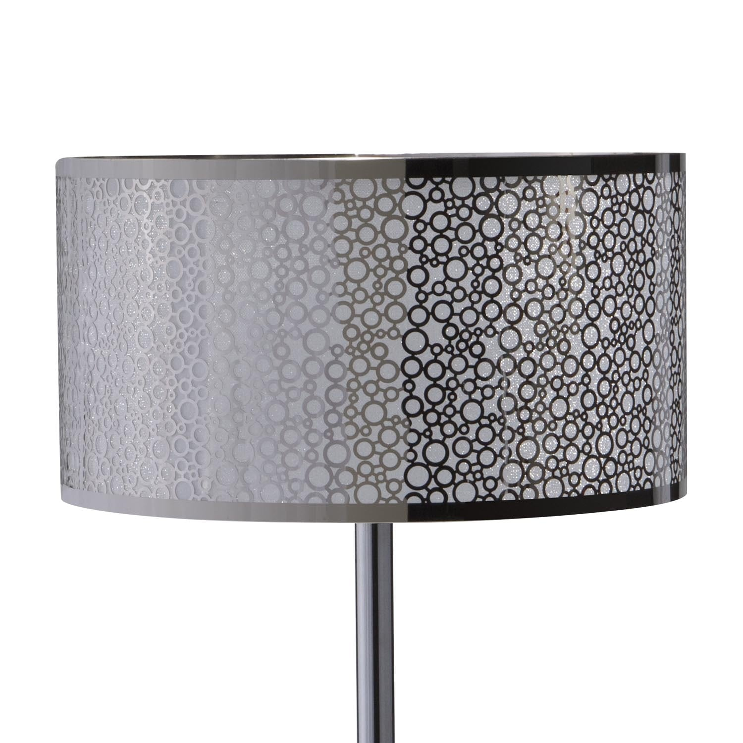 silver circles table lamp value city furniture