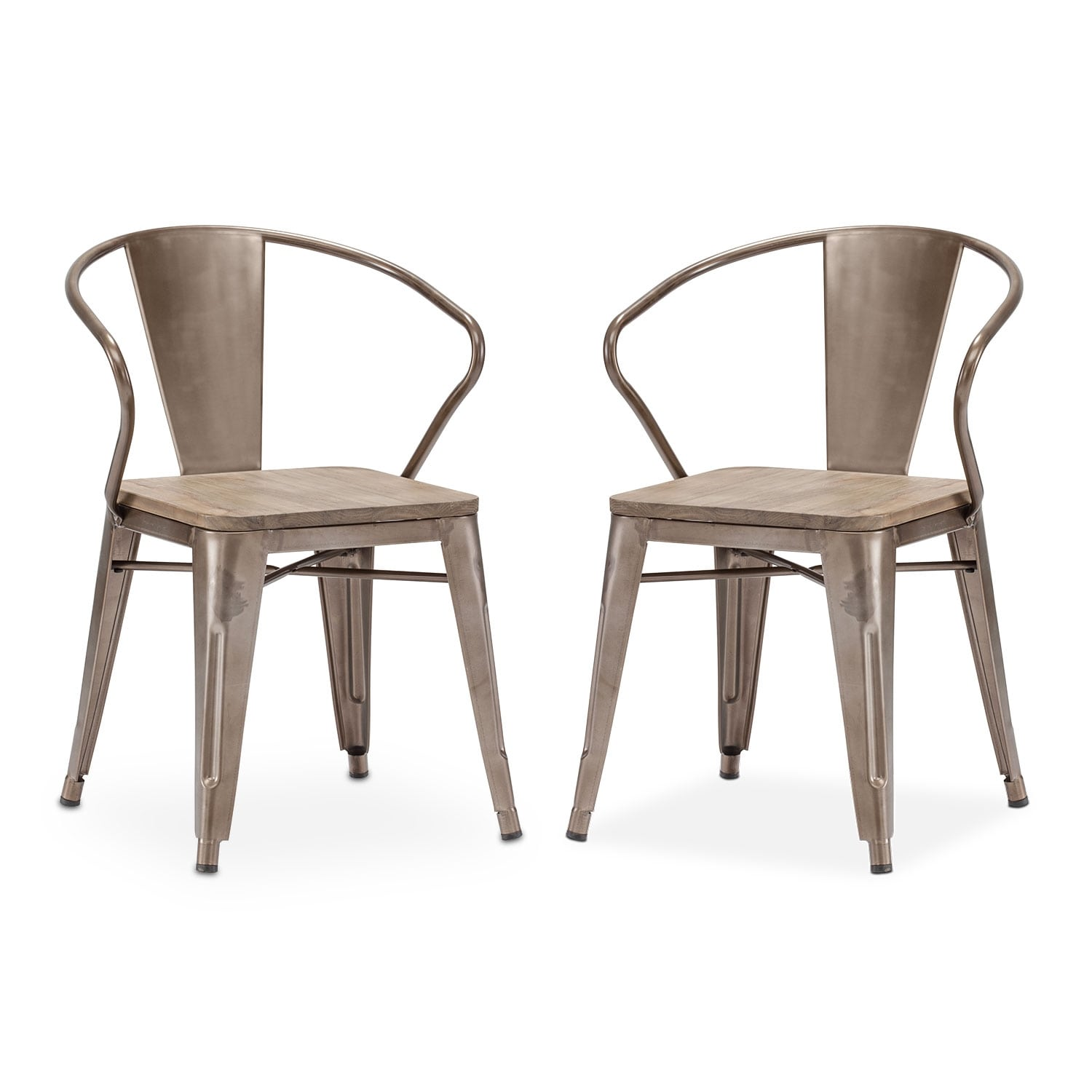 [Rustica 2-Pack Arm Chairs]
